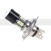 1Pcs Car H4 Led Lamplight Ampoules Blanc 12W 5050 SMD 6000K 500LM LED Fog Light Bulb Driving Light Daytime Running Light DRL