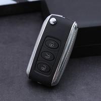 Wholesale Vw Key Shell - 3 Buttons Remote Flip Folding Car Key Shell Replacement for VW Volkswagen MK4 Bora Golf 4 5 6 Passat Polo Bora Touran