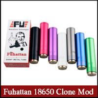 Wholesale Ego Switch - Fuhattan E-cigarette Mods clone 18650 22mm mechanical mod spring magnetic Switch 510 ego thread vs Fuhatton V2 mod