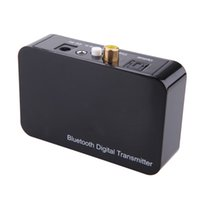 Wholesale Wireless Audio Optical - Optical Coaxial Digital Transmitter Wireless Bluetooth 3.5mm audio Transmission Sound Digital Sound Audio Decoding for TV DVD V1066