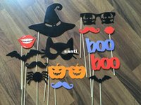 Wholesale Moustache Stick - New Arrive Funny Product DIY Photo Booth Props Moustaches On A Stick Halloween Party