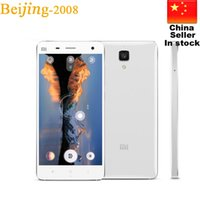 Wholesale M4 Player - Original xiaomi Mi4 M4 LTE 4G Mobile Phone 3G RAM 16G ROM Snapdragon S801 Quad Core 2.5GHZ 5.0'' IPS 1920*1080P OTG GPS Single SIM 010234
