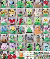 ingrosso bambole giocattolo zombie-39 stili Plants vs. Zombie Plush Toys doll Cartoon anime figure Movies Accessori Farciti Giocattoli per bambini Classic Hot games dolls V162