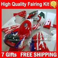 Wholesale Nsr Abs Fairing Kit - 7gifts+Bodywork Green blue For HONDA NSR250R MC21 PGM3 90-93 Red white 14CL59 NSR 250R 90 91 92 93 NSR250 R 1990 1991 1992 1993 Fairing Kit