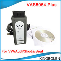 Wholesale Seat Vag - High Quality VAS5054 Plus ODIS V2.02 Bluetooth Version 5054A for Audi VW Skoda Seat Diagnostic tool For VAG models DHL Post Free Shipping