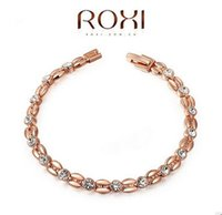 Wholesale Valentine Ladies Jewelry - Valentines Day Gifts for Women High Quality Wheat Rose Gold Bracelets Ladies Fashion Diamond Bracelets for Women Jewelry