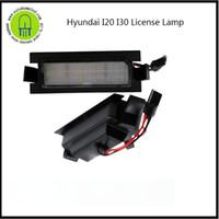 Wholesale hyundai terracan - 2PC X dahosun LED License Lamp for Hyundai I20 Veloster Terracan I30 Car Tail light