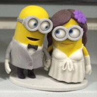 Wholesale Minions Wedding Cake Toppers