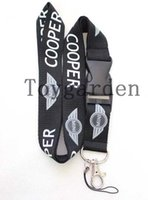 Mais quente MINI carro logotipo Colour Lanyard, ID titular do cartão, Key Neck Strap Lanyard, Strap Telefone Neck