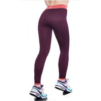 2017 Brand New Sexy vita alta Stretched Vestiti Spandex Quick-Drying Womens Leggings Pantaloni Active Fitness