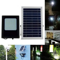 Barato Painéis De Energia Solar 12v-15W 1300 Lumens LED Solar Light 3528 SMD Solar Powered Panel Floodlight Sensor de corpo Outdoor Garden Landscape Spotlights Lamp