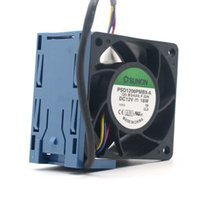 Wholesale Fan Module - Sunon PSD1206PMBX-A 12V 18W for DL180G6 Replace with Spare Fan Assy 2U Module