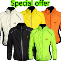 Wholesale Offer Ropa - Wholesale-2015 Tour de France Special offer 5 color Waterproof Cycling Jerseys Rain Coat Ropa Ciclismo Wind Coat Windproof MTB Raincoat