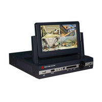 enregistreurs vidéo achat en gros de-7 pouces LCD H.264 4 canaux tout en un AHD DVR numérique enregistreur vidéo soutien 1080p caméra pour la sécurité à domicile surveillance CCTV