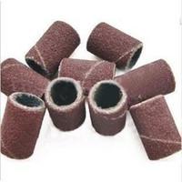 Wholesale Drill Uv - Wholesale-MN-200 pcs Sanding Bands Drills Bits #180 UV Gel Acrylic Tips Nail Art Machine Tools