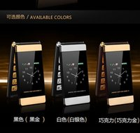 Wholesale Smart Flip Cell Phones - classic flip cell phone , mobile cell phone, no smart, long standby time, dual sim card ,dual standby, dual screen, flip phone ,three colors