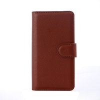 Wholesale Meizu M2 - S5Q Flip Waterproof Leather Wallet Case Cover Stand Protectors For Meizu M2 Note AAAFHL