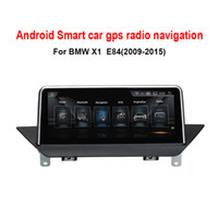 "evrensel wifi android araba dvd oynatıcı toptan satış-10.25 ""Dokunmatik Android 8.0 Araba GPS Navigasyon BMW X1 E84 2009-2015 Radyo Ses Stereo MP5 Çalar Bluetooth WiFi Mirrorlink yok araba dvd"