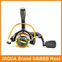 Wholesale Penn Reels Spinning - Free shipping 6BB Spinning Fishing reel JS1000 best fishing reel Banax Coil equipment for fishing tackle Penn
