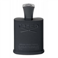 homens perfume quente venda por atacado-Venda quente perfume homens colônia preto Creed Tweed irlandês verde Creed 120 ml com alta guality frete grátis