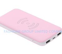 ingrosso il migliore caricatore senza fili di iphone-Caricabatterie wireless Power 8000mAh di alta qualità con 2 uscite USB per iPhone e Samsung