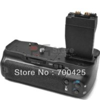 Wholesale Battery Grip T4i - New Battery Grip for Canon EOS 550D 600D 650D T2i T3i T4i DSLR camera as BG-E8 Free Shipping
