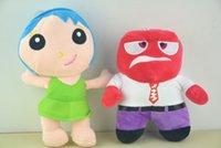 Wholesale Doll Gif - 20-25cm Pixar Movie Anime Cartoon inside out mood Joy fear anger sadness disgust Riley plush toy doll kid gif