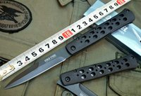 Wholesale folding knifes china for sale - Group buy Made in China Cold Steel S SB Folding blade knife Silver edtion EDC pocket Survival Camping Single edge knives