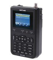 "Wholesale dvb meter - Wholesale-1PC Original Satlink WS-6906 3.5"" DVB-S FTA digital satellite meter satellite finder ws 6906 satlink ws6906 free shipping"
