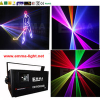 Wholesale Ilda Rgb - Wholesale-high quality:1500mW 1.5W FULL COLOR RGB ILDA DMX DJ Stage Laser Light Disco 25KKPS Scanner
