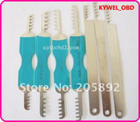 Wholesale House Locksmiths - 7pcs comb pick,Comb Pick Lock Tools Locksmith tool for House Lock 7pcs PedLock,clom lock pick, locksmith tool free shipping