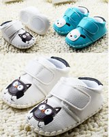 Wholesale Infant Shoes Wholesale China - 2016 Winnie the Pooh cartoon PU soft bottom baby casual sports stumble walking shoes. infant spring toddler shoes china baby 5pair 10pcs CL