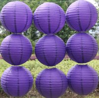 Wholesale Free Chinese Lantern - 2016 Free shipping 10pcs lot 8''(20cm) Chinese paper lantern homes and party decoration wedding decoration 20 colors wedding lantern