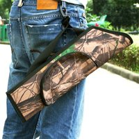 Wholesale Arrow Holder - Water Resistant Camouflage Archery Hunting Arrow Quiver Holder Bag Y0508