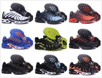 Wholesale Pa Lights - Famous Brand New Cheap Zapatillaes Mens Casual Tn running Shoes,shoes sport TOP Quality Chaussures Hommes Tn Requin Pas Cher Running shoes