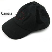 Wholesale Video Camera Cap Spy - 1280*960 30 fps 2M Pixel Spy Baseball Cap Hat mini Camera Hidden DVR Camcorder Video Recorder
