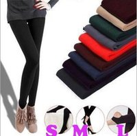 Wholesale Wholesale Khaki Pants For Women - COLOR FOR CHOICE WOMEN WARM WINTER SKNNY STRETCH FLEECE LEGGING PANT