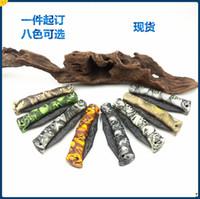 ingrosso coltelli da campeggio in porcellana-La Cina ha realizzato il coltello pieghevole da tasca Ghillie Coltello da campeggio all'aperto Coltello da tasca EDC Utensili da taglio per shearp Coltelli da taglio