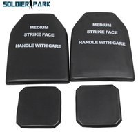 Wholesale Military Dummy - Brand New 4pcs Shockproof EVA Dummy Ballistic Plate Set for Airsoft Cosplay Tactical Vest Protection Military Vest Accessory> order<$18no tr