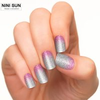 Wholesale Kits Sticks Nail Art - Wholesale- Hot New French Strips Nail Polish Patch Stick Manicures Nail Art Tip Guide Decoration For Gel Polish Have Manicure Kit