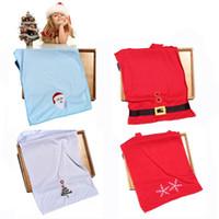 новые рождественские полотенца оптовых-Рождество Новый год полотенце подарок Санта-Клаус / Снежинка / Xmas дерево / пряжка для ремня 76X34CM 100 шт.