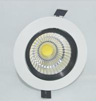 lampenhersteller großhandel-Fashional Hauptbeleuchtung runder Pfeiler führte hinunter weiße Farbe der Lampe China-Hersteller 7w 5w geführtes downlight