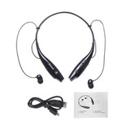 Wholesale cell phone listening - Wireless Bluetooth Headset HandFree Sport Stereo Headphone With MIC Listen Music Strong Bass HV800 For Phone