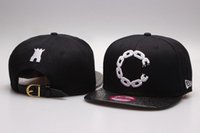 Wholesale Castle Cottons - 2015 New Crooks & Castles Hats CRKS Cashew Snapbacks Guns Faux Leather Caps Adjustable Hip Hop Hat Top Quality Can Mix Order