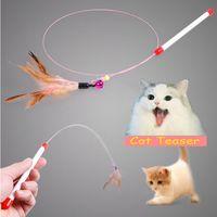 Wholesale Wholesale Toy Stores - Wholesale Cat Teaser Funny Pet Supplies Cat Toy for Pet Store Soft Kitten Toy Purr Purr