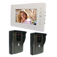 "Wholesale Door Phone For Home - 7"" Color Video Door Phone Doorbell Intercom Kit IR Night Vision Camera Monitor For Home Security F4338B3"