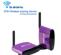 5,8 GHz 300 Meter STB IR Remote extender drahtlose IPTV Set-Top Box TV Signal Sender Analog oder Digital Wireless Audio Video Receiver