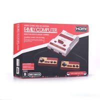Wholesale Tv Computer Wholesalers - HDMI AV Out Put Mini FC Video Game Console HD Edition Family Computer Built-in 600 Different Classic Games for Mini TV NES Collection