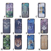 Wholesale Apple Plastic Effect - Wholesale 3D Effect Hologram King Skull Pattern Case For iPhone 6 4.7 3D Case iPhone6 high quality 010078