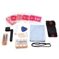 Wholesale Guitar Dial - Wholesale-New Pack of Folk Acoustic Guitar 9(Rag+Strap+Grover+String+Pitch Pipe+Dial+Box+Nail)